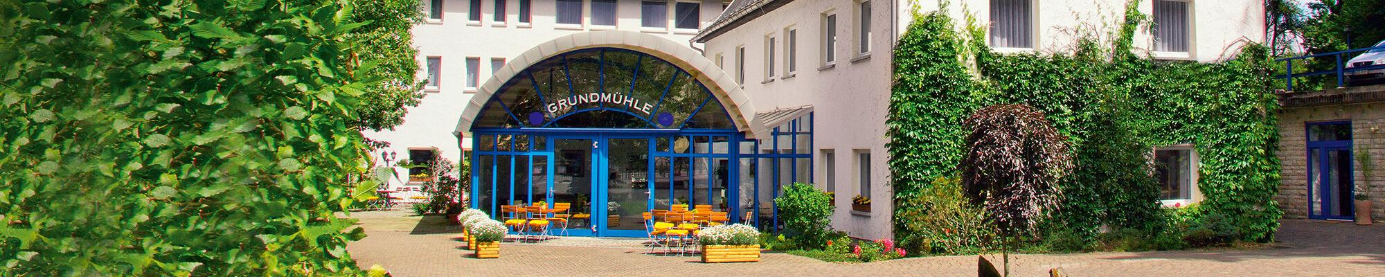 Hotel Grundmühle Aussenansicht