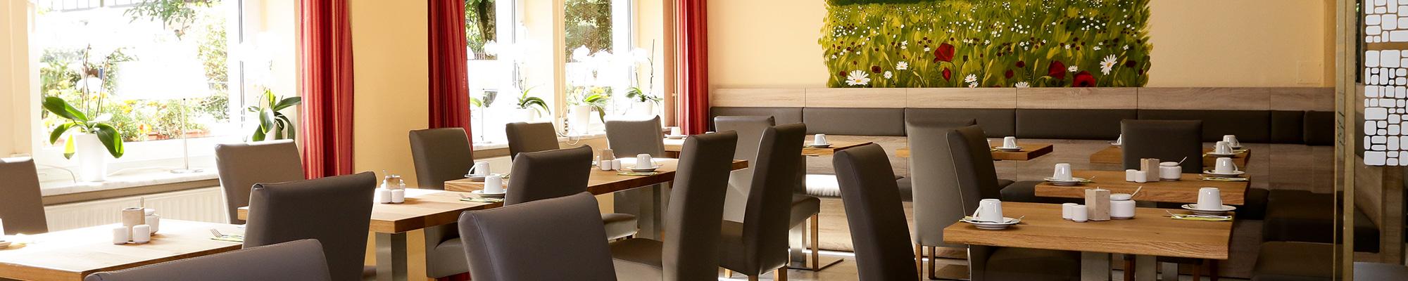 Hotel garni Grundmühle Frühstück