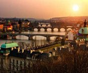 Prag Panoramaansicht