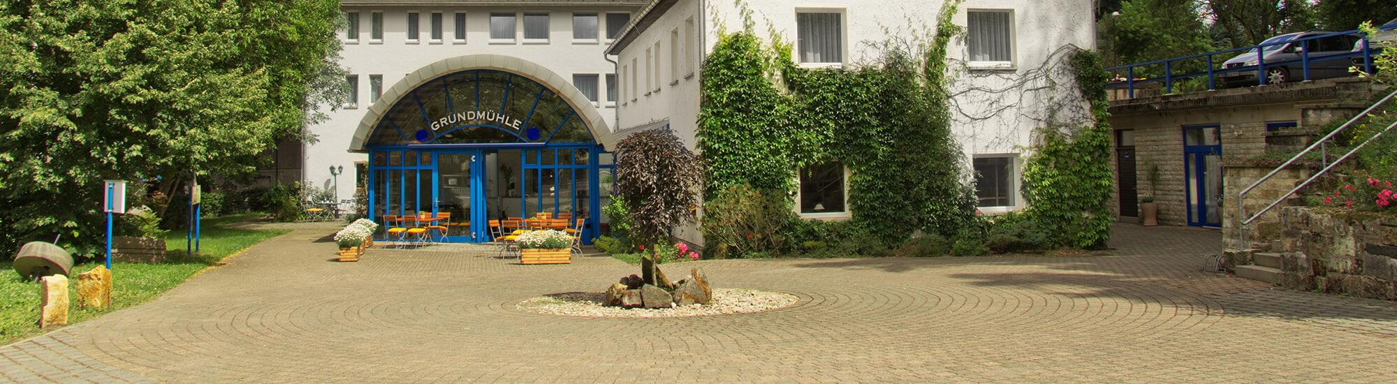 Hotel Grundmühle Außenansicht