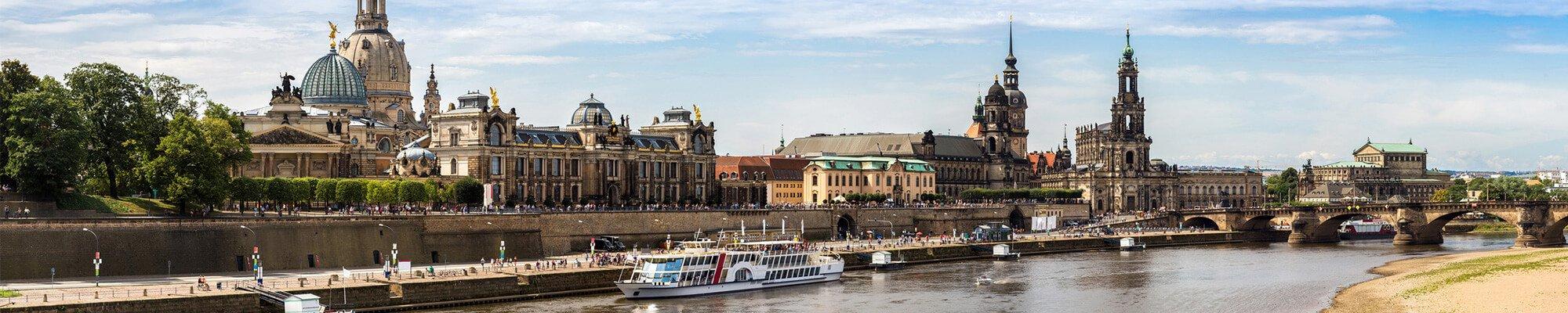 Dresden Panorama Sommer