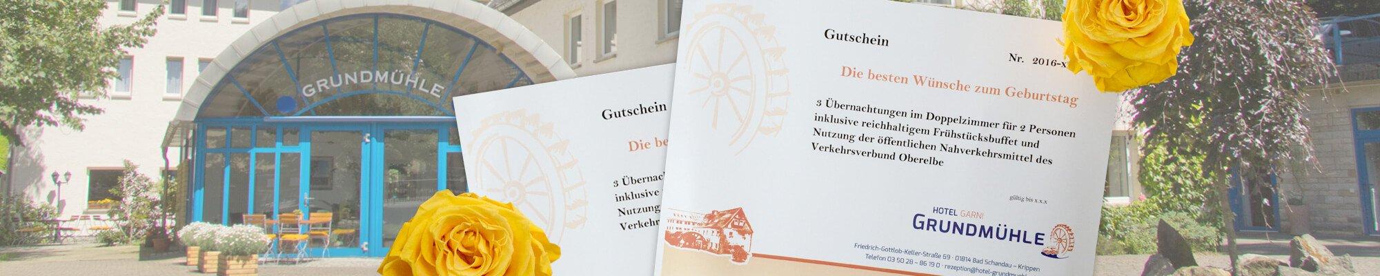 Gutschein Hotel Grundmühle